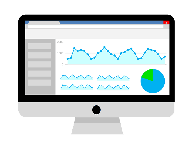 Google Analytics op een scherm