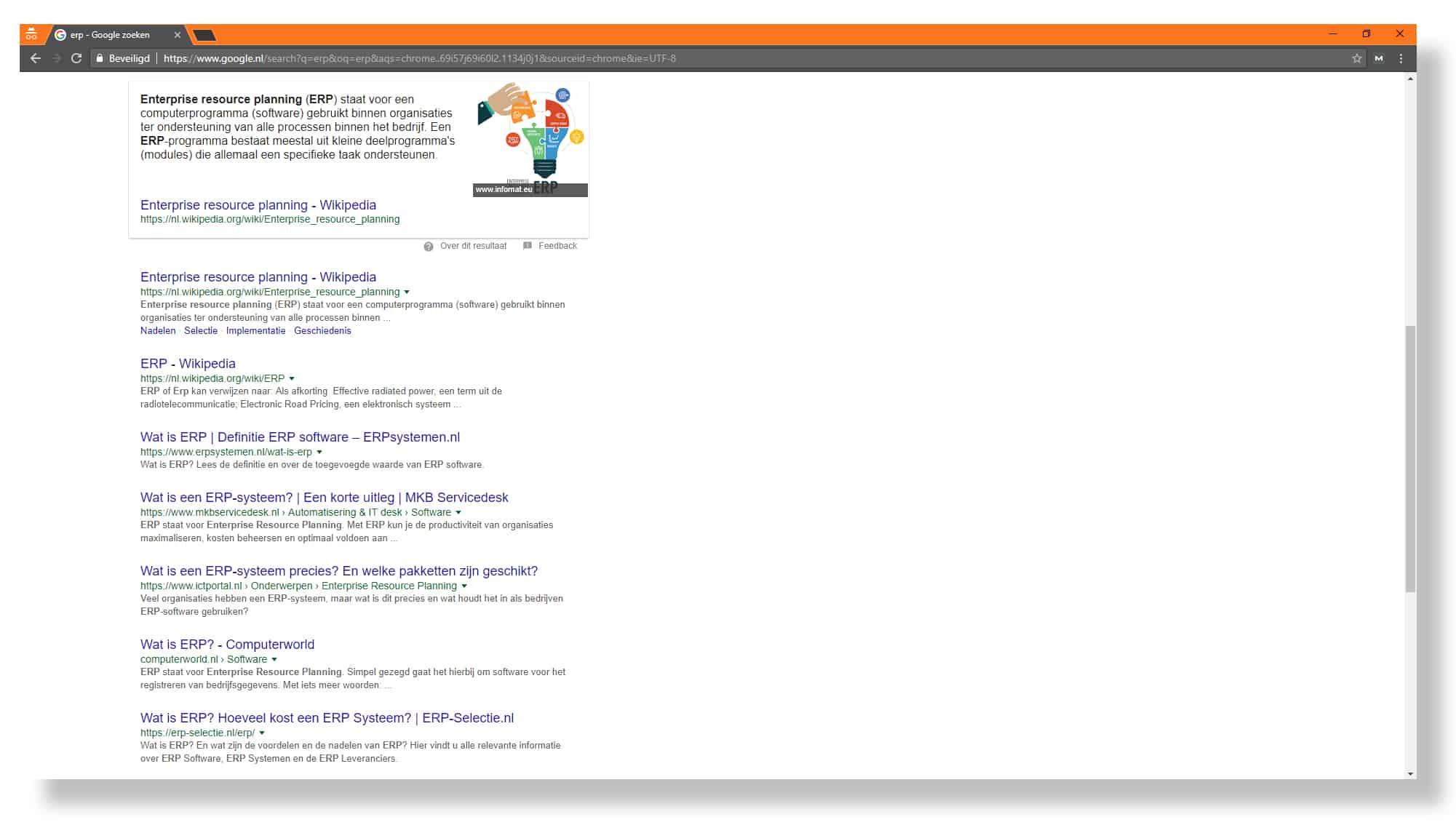 Zoekwoorden van online concurrenten onder de loep